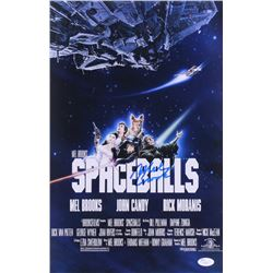 "Mel Brooks Signed ""Spaceballs"" 12x18 Photo (JSA COA)"