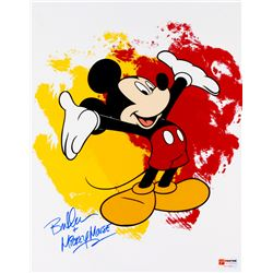 "Bret Iwan Signed Mickey Mouse 11x14 Photo Inscribed ""Mickey Mouse"" (PA COA)"