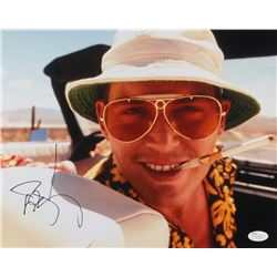 "Johnny Depp Signed ""Fear and Loating in Las Vegas"" 11x14 Photo (JSA COA)"