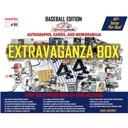 """Baseball Extravaganza Box""! Auto's, Cards  Memorabilia - 40+ Items Per Box!"