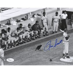 Ron Santo Signed Cubs 8x10 Photo (JSA COA)