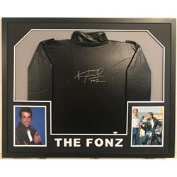 "Henry ""Fonz"" Winkler Signed 34x42 Custom Framed ""Happy Days The Fonz"" Jacket Display  (JSA COA)"