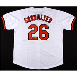 Buck Showalter Signed Orioles Jersey (MLB Hologram)