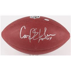 "Carl Eller  Signed Wilson NFL Football Inscribed ""HOF 04"" (Schwartz COA)"