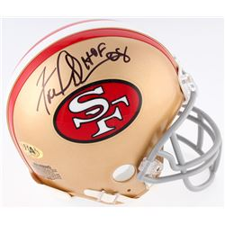 "Fred Dean Signed 49ers Mini Helmet Inscribed ""HOF 08"" (MAB Hologram)"