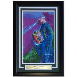 "Leroy Neiman Arnold Palmer ""The King"" 16x24 Custom Framed Print Display"