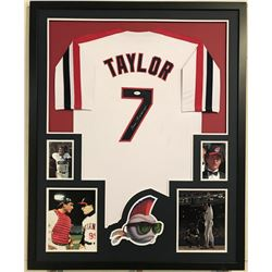 "Tom Berenger Signed ""Major League"" 34x42 Custom Framed Jersey Display (JSA COA)"