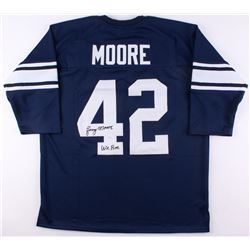 "Lenny Moore Signed Penn State Nittany Lions Jersey Inscribed ""We Are"" (JSA COA)"