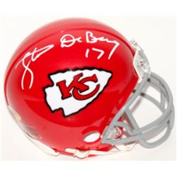 Steve DeBerg Signed Chiefs Mini Helmet (MAB Hologram)