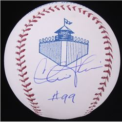 Charlie Sheen Signed California Penal League Logo Baseball (MAB Hologram)