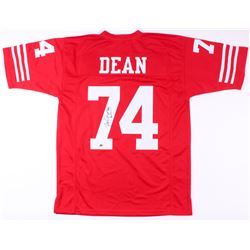 "Fred Dean Signed 49ers Jersey Inscribed ""HOF 08"" (MAB Hologram)"