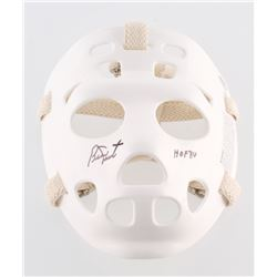 "Bernie Parent Signed Throwback Goalie Mask Inscribed ""HOF 84"" (Schwartz COA)"