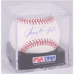 Sandy Koufax Signed OML Baseball (PSA Hologram)