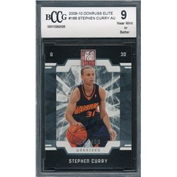2009-10 Classics #166 Stephen Curry AU / 499 RC (BCCG 9)