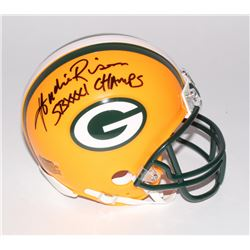 "Andre Rison Signed Packers Mini-Helmet Inscribed ""SB XXXI Champs"" (Schwartz COA)"