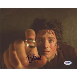 "Elijah Wood Signed ""Lord of the Rings"" 8x10 Photo (PSA COA)"