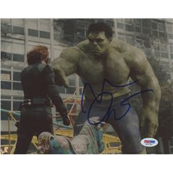 "Mark Ruffalo Signed ""The Avengers"" 8x10 Photo (PSA COA)"