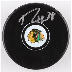Ryan Hartman Signed Blackhawks Hockey Puck (Schwartz COA)