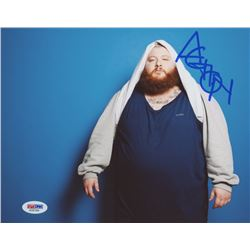Action Bronson Signed 8x10 Photo (PSA COA)