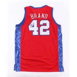 Elton Brand Signed Clippers Jersey (JSA COA)