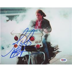 "Mel Gibson Signed ""Leathal Weapon"" 8x10 Photo (PSA COA)"