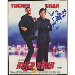 "Jackie Chan Signed ""Rush Hour 2"" 8x10 Photo Inscribed ""Love"" (PSA COA)"