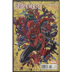 "Stan Lee Signed ""Spider-Verse"" Comic Book (Stan Lee COA)"