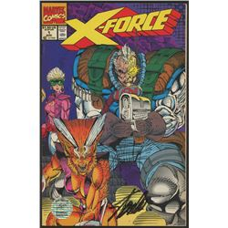 "Stan Lee Signed ""X-Force"" Comic Book (Stan Lee Hologram)"
