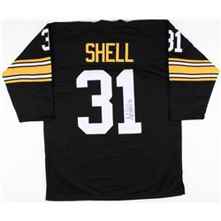 Donnie Shell Signed Steelers Jersey (TSE COA)