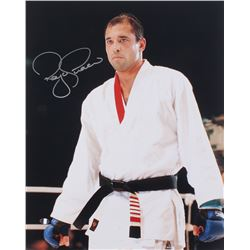 Royce Gracie Signed UFC 16x20 Photo (Sports Integrity COA)