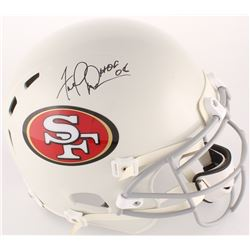 "Fred Dean Signed 49ers Full-Size Authentic On-Field Helmet Inscribed ""HOF 08"" (JSA COA)"