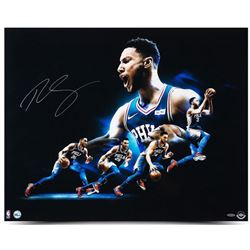 "Ben Simmons Signed 76ers ""Drive"" 24x30 Photo (UDA)"