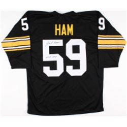 "Jack Ham Signed Steelers Jersey inscribed ""HOF 88"" (TSE COA)"