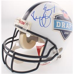 Reggie Bush Signed 2006 NFL Draft Full-Size Authentic On-Field Logo Helmet (PSA COA)
