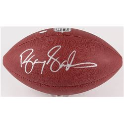 Barry Sanders Signed NFL Football (Schwartz COA)