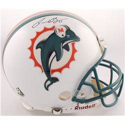 Ronnie Brown Signed Dolphins Full-Size Authentic On-Field Helmet (Mounted Memories COA)
