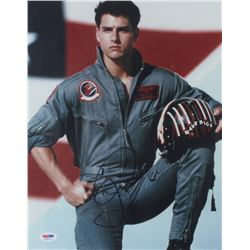 "Tom Cruise Signed ""Top Gun"" 11x14 Photo (PSA COA)"