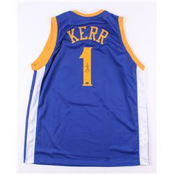 Steve Kerr Signed Warriors Jersey (Schwartz COA)