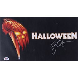 "John Carpenter Signed ""Halloween"" 11x14 Photo (PSA COA)"