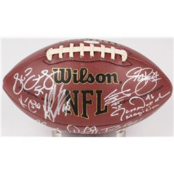 2008 Eagles NFL Football Team-Signed by (19) With Kevin Curtis, Sheldon Brown, David Akers, Andy Rei