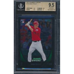 2011 Bowman Chrome #175 Mike Trout RC (BGS 9.5)