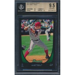 2011 Bowman Draft #101 Mike Trout RC (BGS 9.5)