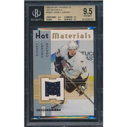 2005-06 Hot Prospects Hot Materials #HMSC Sidney Crosby (BGS 9.5)