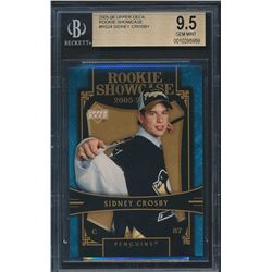 2005-06 Upper Deck Rookie Showcase #RS24 Sidney Crosby (BGS 9.5)