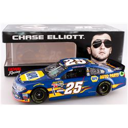 Chase Elliott Signed NASCAR #25 Napa 2015 SS 1:24 Limited Edition Premium Action Die Cast Car (JR Mo