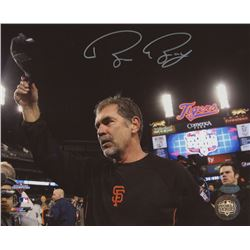 Bruce Bochy Signed Giants 2012 World Series 8x10 Photo (Schwartz COA)
