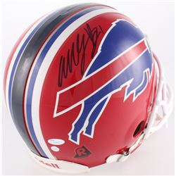 Willis McGahee Signed Bills Full-Size Authentic On-Field Helmet (JSA COA)