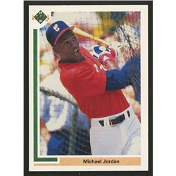 1991 Upper Deck #SP1 Michael Jordan SP/Shown batting in/White Sox uniform