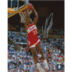Dominique Wilkins Signed Hawks 8x10 Photo (Schwartz COA)