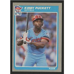 1985 Fleer #286 Kirby Puckett RC